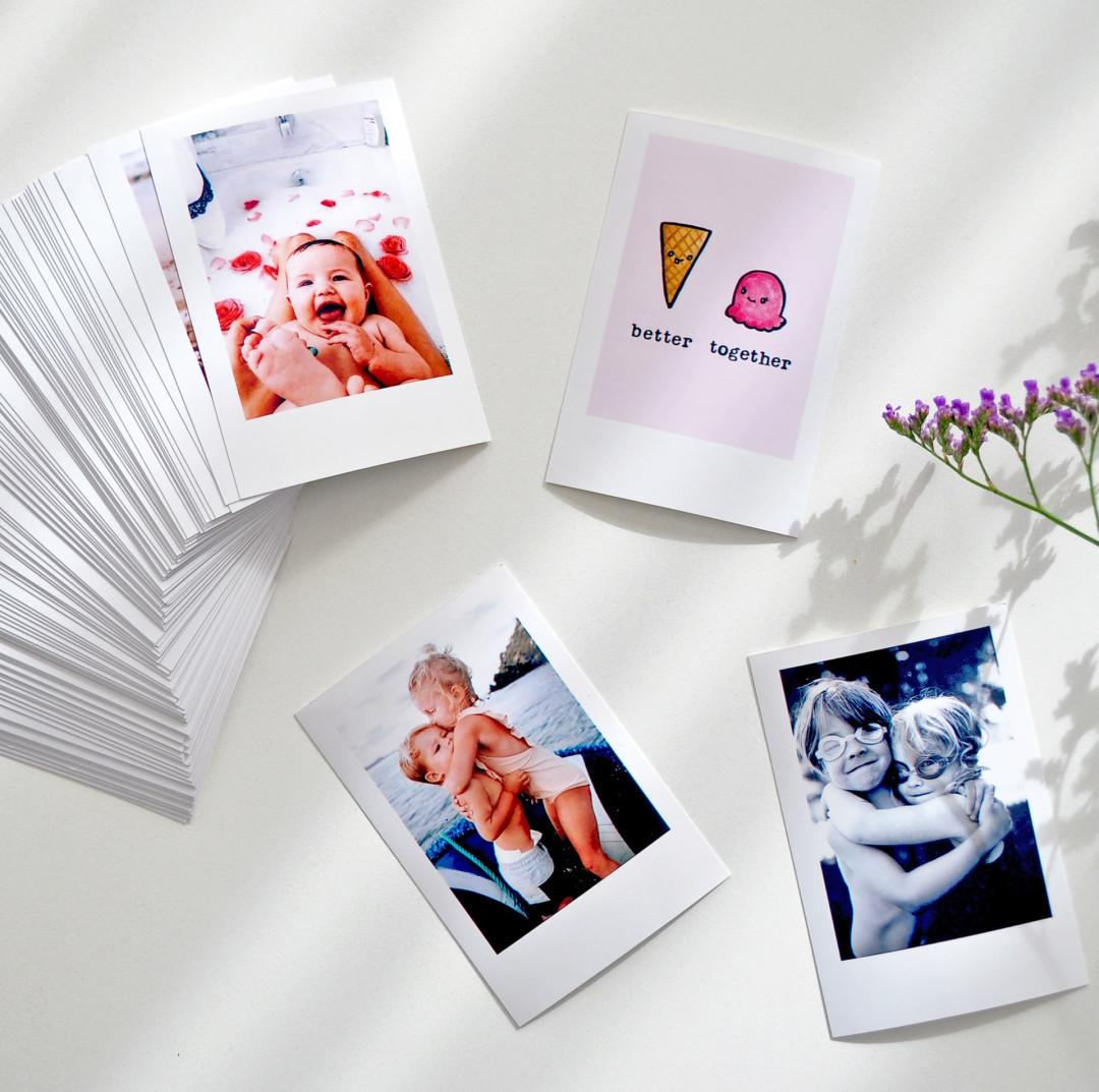 Pack de 100 Mini PolaPrints